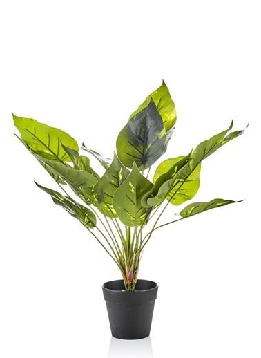 The Mia Yapay Çiçek 45 Cm Saksılı Yeşil